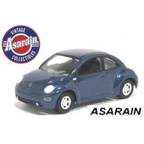 Jl - Vw - New Beetle Azul - 1/64