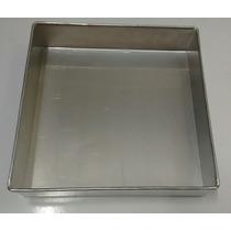 Forma Quadrada P/bolo (aluminio) 30 X 10