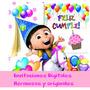 Invitación Digital Fiestas Cumpleaños Eventos Bautizos