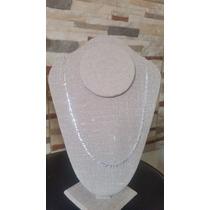 Cadena Hombre Mujer Cartier Plata Ley O.925