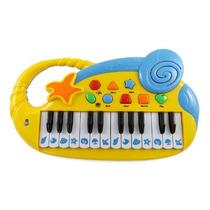 Teclado De Piano Electrónico Musical Divertido Para Los Niñ