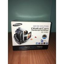 Video Camara Digital Minidv 30xopt/1200xdi Sc D363 Samsung