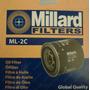 Filtro Aceite Millard Ml-2c Ford Explorer Sport Trac