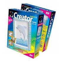 Kit De Molde De Yeso Creator Modelo Delfín Para Niños