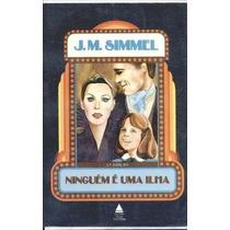 Livro Ninguem E Uma Ilha J. M. Simmel