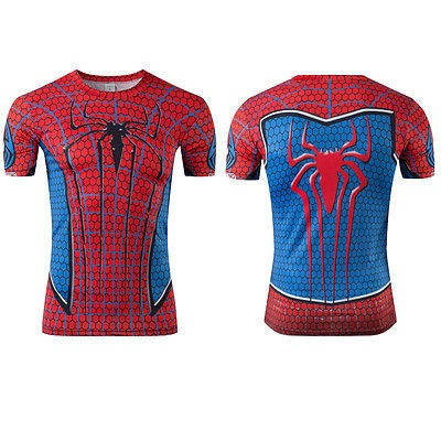 b1ef7fa0f Camiseta Homem Aranha Fantasia Spider Man - R  65