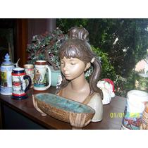 Nina En Jardinera Porcelana Lladro Original
