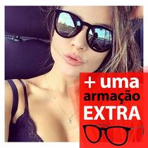Óculos De Sol Feminino Veludo, Espelhado, Aveludado, Vintage