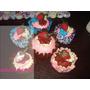 Cupcakes Em Feltro Para Decoração