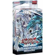 Baralho Yugioh Saga Do Dragão Branco De Olhos Azuis Kaiba