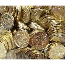 Monedas Plástico Tesoro Pirata Casino Bolo Recuerdo Regalo