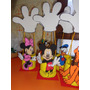 Mickey Minnie Daisy Goofy Pluto En Goma Eva