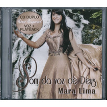 Cd Duplo Mara Lima - Som Da Voz De Deus [cd+playback]