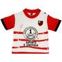 Camiseta Esporte É Energia Meia Malha Menino Flamengo Reve D