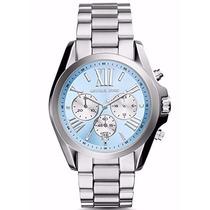 Relógio Feminino Michael Kors Mk6099 Original Azul Bebe