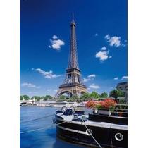 Quebra Cabeça Puzzle 500 Peças Paris Torre Eiffel Paisagem