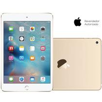 Oferta Tablet Apple Ipad Mini 4 Dourado 128 Gb Ios Sem Juros