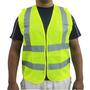 Chaleco Para Seguridad Industrial Con Bandas Reflectivos