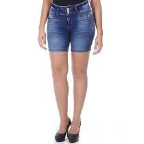 Shorts E Bermuda Cós Alto Corpete Jeans Feminino Lojas Bh
