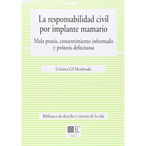 Responsabilidad Civil Por Implante Mamario (bib Envío Gratis