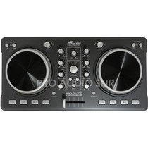 Controlador Gbr Pro Dj 100 Usb Virtual Dj Mixer Consola Midi