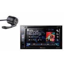 Aparelho Dvd Pioneer Avh288bt Bluetooth 2din + Camera