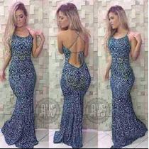 Vestido Sereiavarias Estampas Promoção! Imperdível