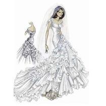 Vestido De Novia Como Nuevo De Diseñador