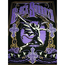 Polera Estampada Black Sabbath
