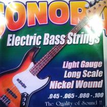 Cuerdas Para Bajo Electrico 4 (made In Usa ,set De 4)