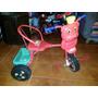 Triciclo De Metal De Pedal En Rojo Para Bebe Niño