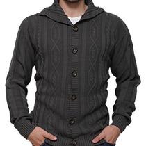 Sweater Canetti - Sacón Con Ochos Y Botones - Art.1417