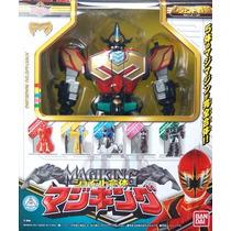 Power Ranger Megazoid Joint Gattai Magiking - (bandai)