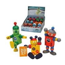 Toy Robot - Media Madera Flexi Fun Party Novedad Del Regalo