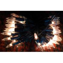 Luces Navidad 100 Luces Blanca Navideñas Alargue Arbol Smile