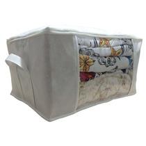 Caixa Organizadora De Guarda Roupa Edredom - 60x45x30