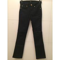 Calça Jeans Fem Lycra Flare Pouco Usada 7 For All Mankind