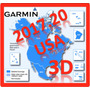 Mapa Garmin Nuvi City Navigator North America Nt 2017 3d