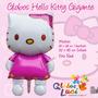 Globo Metalico Gigante Hello Kitty