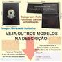 Carteira E Porta Credencial De Músico Omb Frete Grátis P93p