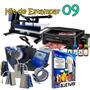 Prensa 6x1+prensa Plus 38x38 + Impressora L220 & Blue Paper