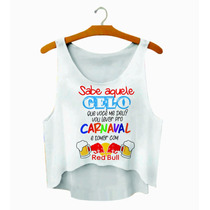 20 Croppeds Personalizados Carnaval