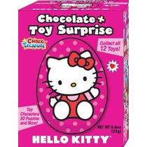 Hello Kitty Leche Huevos De Chocolate Con Toy Surprise! Box
