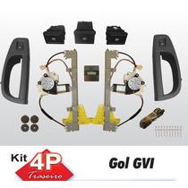 Vidro Eletrico Gol G6 4 Portas Traseiro Sensorizado