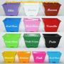 10 Vasos Quadrado Cachepot Plast. P/ Artesanato Lembrancinha