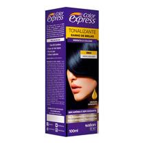 Tonalizante Color Express 100ml - Salon Line Preto Azulado