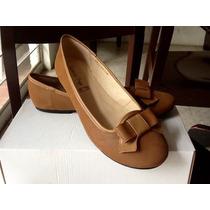 Zapatos Talla Grande 8 Mexicano, Flats, Miel