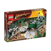 Lego 7626 Indiana Jones Jungle Cutter.