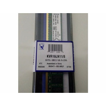 Memória 8gb Ddr3l 1600mhz 1.35v Low Voltage Kingston Desktop
