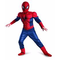 Disfraz Spiderman Musculoso Talla 10-12 Nuevo Original